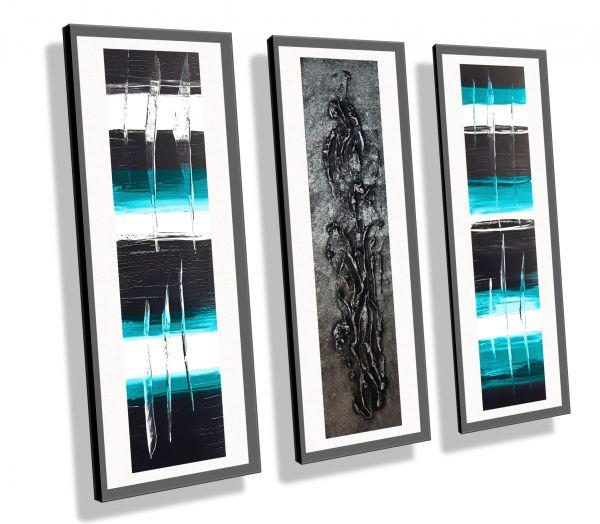 Atelier-MK1-Art-Melanie-Kuntz-Trier-XXL-Kunst-handgemalt-Strukturbild-Leichtstrukturpaste-Acrylfarben-Acrylbilder-Leinwand-moderne-abstrakte-zeitgenössische-Malerei-Originale-Unikate-Bilder-direkt-vom-Künstler-online-kaufen-Galerie-Shop-silber-türkis-schw