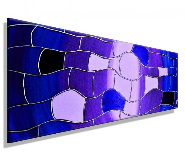 Atelier-MK1-Art-Melanie-Kuntz-Trier-XXL-Kunst-handgemalt-viele-bunte-Farben-Acrylfarben-Acrylbilder-Leinwand-moderne-abstrakte-zeitgenössische-Malerei-Originale-Unikate-Bilder-direkt-vom-Künstler-online-kaufen-Galerie-Shop-lila-linien-wellen-flieder-bla-s