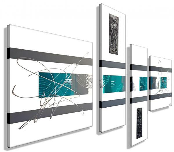 Atelier-MK1-Art-Melanie-Kuntz-Trier-XXL-Kunst-handgemalt-mehrteiliges-Bild-Acrylfarben-Acrylbilder-Leinwand-moderne-abstrakte-zeitgenössische-Malerei-Originale-Unikate-Bilder-direkt-vom-Künstler-online-kaufen-Galerie-Shop-türkis-grau