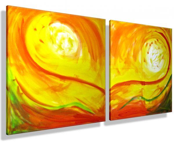 Flammende-Sonne-Sacrebleu-Atelier-MK1-Art-Melanie-Kuntz-Trier-XXL-Kunst-handgemalt-viele-bunte-Farben-Acrylfarben-Acrylbilder-Leinwand-moderne-abstrakte-zeitgenössische-Malerei-Originale-Unikate-Bilder-direkt-vom-Künstler-online-kaufen-Galerie-Shop-gelb-o