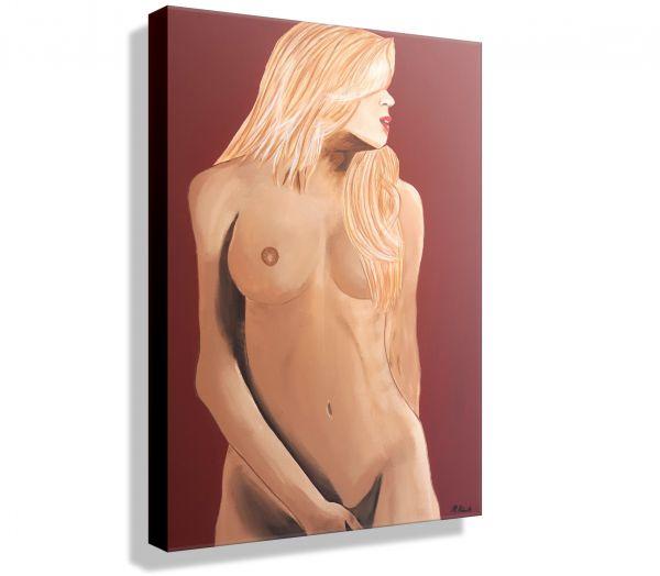 Atelier-MK1-Art-Melanie-Kuntz-Trier-XXL-Kunst-handgemalt-viele-bunte-Farben-Acrylfarben-Acrylbilder-Leinwand-moderne-abstrakte-zeitgenössische-Malerei-Originale-Unikate-Bilder-direkt-vom-Künstler-online-kaufen-Galerie-Shop-Akt-nackte-frau-blond