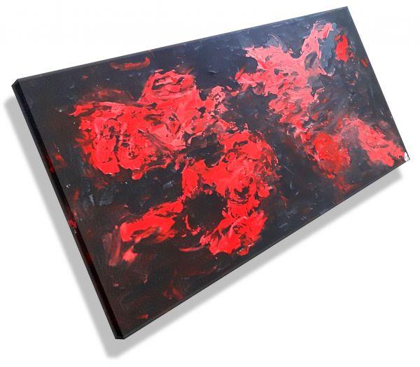 Atelier-MK1-Art-Melanie-Kuntz-Trier-XXL-Kunst-handgemalt-viele-bunte-Farben-Acrylfarben-Acrylbilder-Leinwand-moderne-abstrakte-zeitgenössische-Malerei-Originale-Unikate-Bilder-direkt-vom-Künstler-online-kaufen-Galerie-Shop-schwarz-rot-nass-in-nass-technik