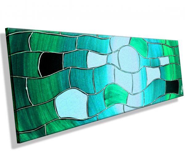 Turquoise-Waves-Atelier-MK1-Art-Melanie-Kuntz-Trier-XXL-Kunst-handgemalt-viele-bunte-Farben-Acrylfarben-Acrylbilder-Leinwand-moderne-abstrakte-zeitgenössische-Malerei-Originale-Unikate-Bilder-direkt-vom-Künstler-online-kaufen-Galerie-Shop-türkis-welle-lin